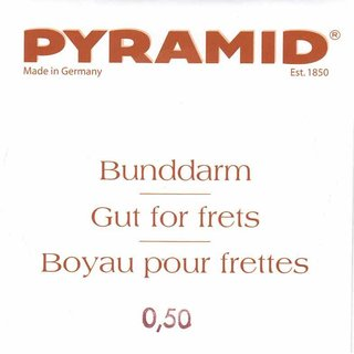 Bunddarm Pyramid 2 x 125 cm 0,50 mm